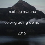 Color grading demo 2015