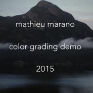 Color grading demo 2015