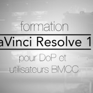 Formation Resolve pour DoP